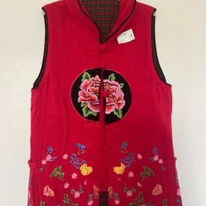Chinese Traditional long vest
